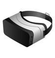 vr glasses headset icon isometric style vector image