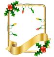 Christmas cards with Christmas balls vector image