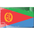 Eritrea national flag vector image vector image