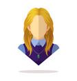 european women avatar vector image vector image