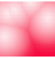 Halftone dotted background pattern template vector image
