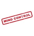 Mind Control Rubber Stamp vector image vector image