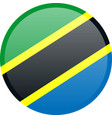 national flag of united republic of tanzania in vector image