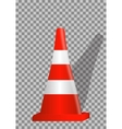 Road signs Orange Badge guardrails on transparent vector image vector image