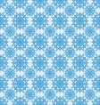 seamless background snowflakes vector image vector image