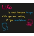 What life means vector image