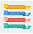 Options template vector image