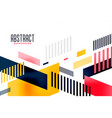 abstract bright colorful modern trendy banner vector image vector image