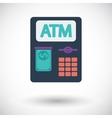ATM icon vector image vector image