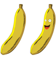 Cartoon Banana vector image