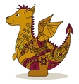 Cartoon Dragon vector image