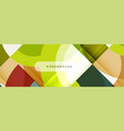 circular geometric abstract background vector image vector image