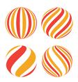 Creative spheres vector image vector image