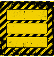 danger sign vector image vector image