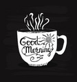 drawing coffee cup vector image vector image