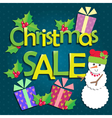 Sale Christmas vector image vector image