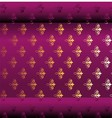 Seamless Dark Purple Wallpaper vector image vector image