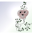 Chinese style chrysanths vector image
