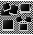 Abstract photo frames set vector image vector image