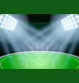 background for australian football stadium vector image vector image