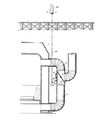furnace damper vintage vector image vector image