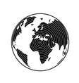 globe earth 20 vector image