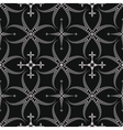 Seamless laurel wreath pattern Lace view texture vector image vector image