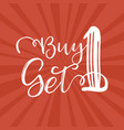 buy one get 1 vector image vector image