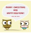 Christmas greeting card19 vector image