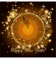 Happy New Year 2017 backgroundTypographic vector image vector image