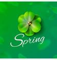 hello hi spring green background stock vector image