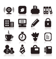 Office icons6 vector image vector image