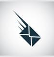 trendy e-mail icon simple concept symbol design vector image vector image