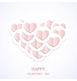 valentines day background Eps10 vector image