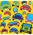 funny traffic vector image