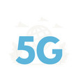5g wireless network concept fifth generation vector image