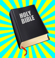 bible with the red tab vector image vector image