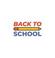 colour pencil icon back to school concept vector image vector image