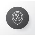 sales location icon symbol premium quality vector image vector image