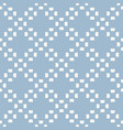 simple geometric floral texture subtle blue and vector image