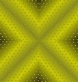 Technology Background With Green Seamless Texture vector image vector image