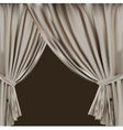 theatre curtain vector image