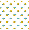 badge pattern seamless vector image vector image