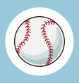baseball ball equipment icon vector image vector image