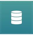 Database flat icon
