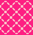pink abstract geometric seamless pattern with vector image