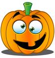 Pumpkin Face 4 vector image vector image