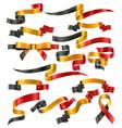 set belgian ribbons vector image vector image