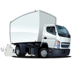 Cartoon delivery cargo truck vector | Price: 3 Credits (USD $3)