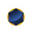 diamond symbol template blank vector image